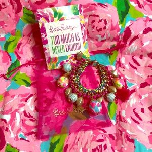 Lilly Pulitzer bauble bracelet